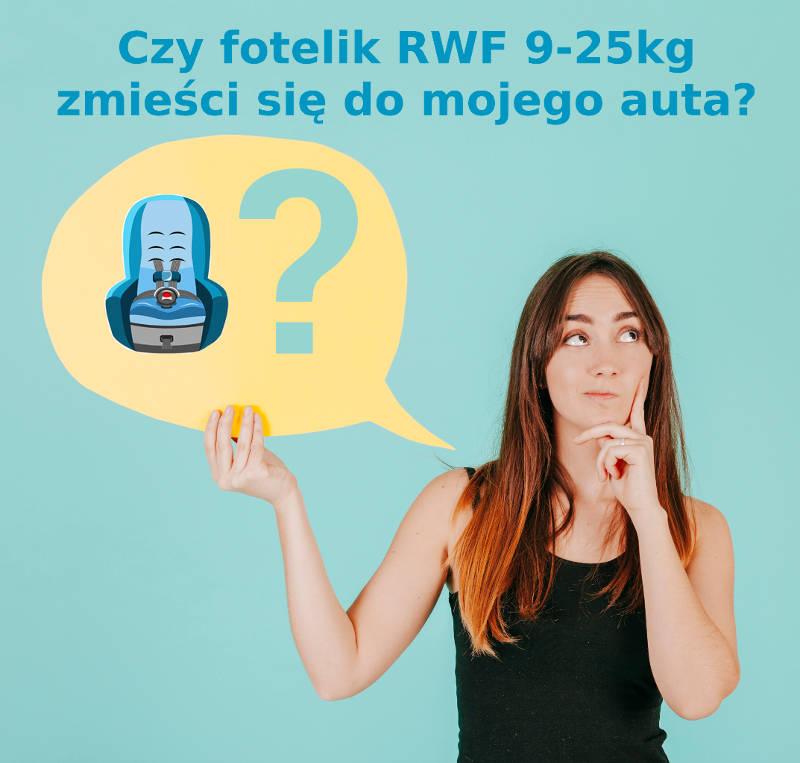 Czy fotelik RWF zmieści się do samochodu?