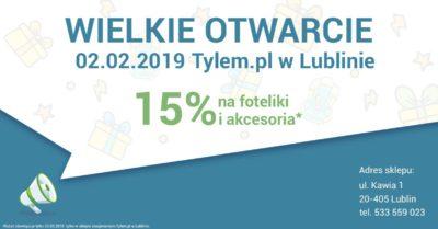 Foteliki w Lublinie