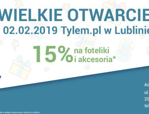 Tylem.pl otwiera nowy sklep w Lublinie.
